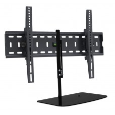 Universal Tilt Motion TV Wall Bracket with Floating Shelf for TV sizes 32 to 55