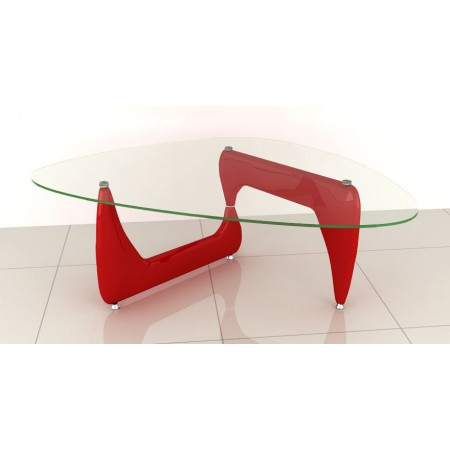 Designer Coffee Table in Red