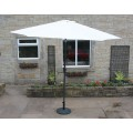 Parasol 3m Cream with Steel Frame With or Without Base