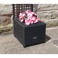Hand Woven PE Rattan Trellis Planter Flower Pots Outdoor Garden Furniture