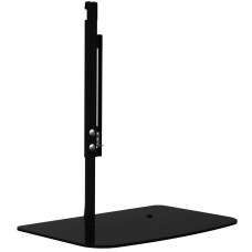 Glass Floating TV shelf can be attached to TV brackets
